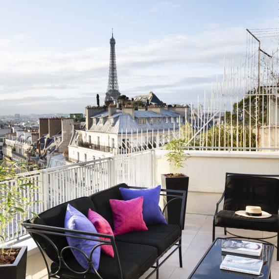 Suite Eiffel 81 terrasse
